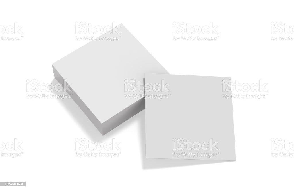 Leere Weiße Mockup Vorlage Für Visitenkarte Einladung Auto