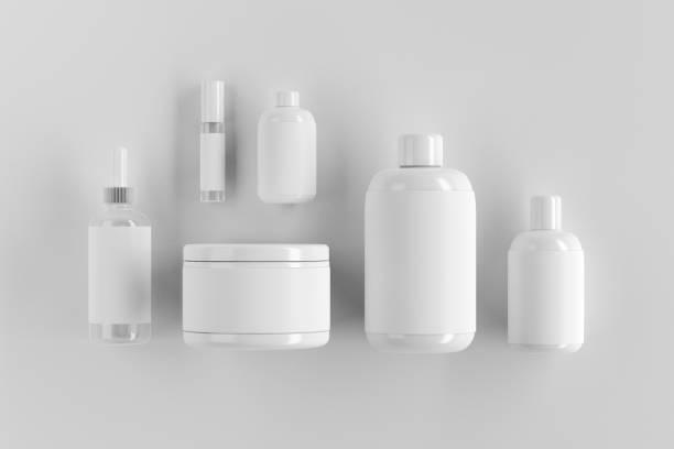 Leere weiße Verpackung – Foto