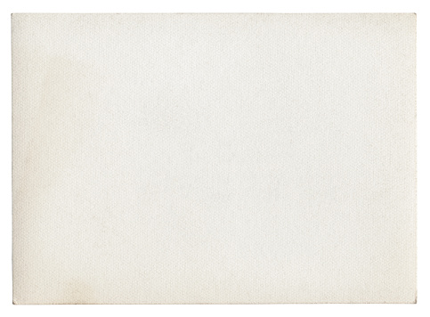 Blank white paper isolated (clipping path included)