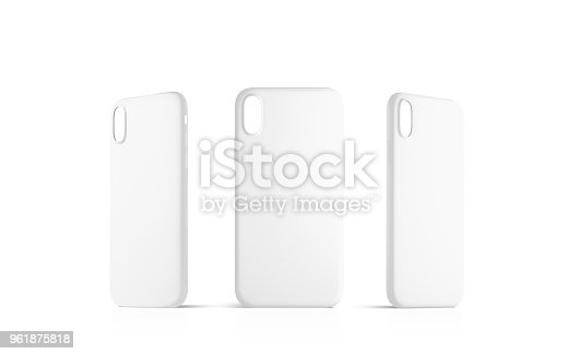 f175c40afd istock Blank white phone case mock up set, empty isolated 961875818 >>