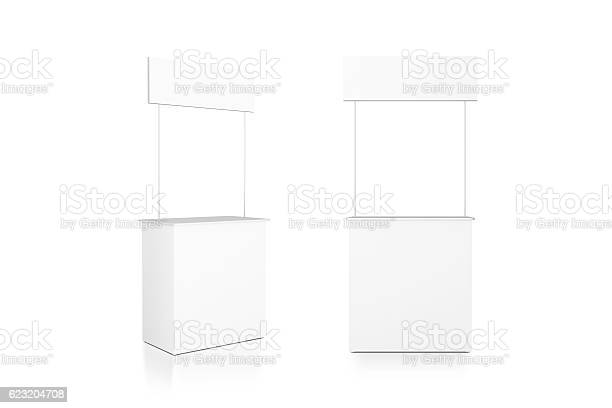 Blank white promo counter mockup stand front and side view picture id623204708?b=1&k=6&m=623204708&s=612x612&h=zm9bhnhpwtmayc9xa01r ra3qh bccd1vhydsw7 epu=