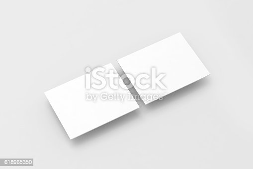 611766442 istock photo Blank white rectangles computer web-site design mockup 618965350