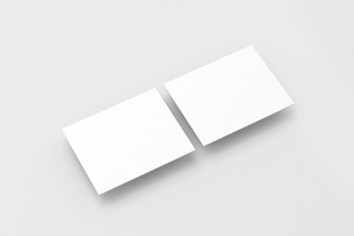 Blank white rectangles computer web-site design mockup, clipping path, 3d rendering. Web app display interface mock up. Website ui template for browser screen. Online application presentation shapes.
