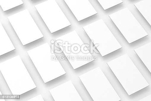 istock Blank white rectangles field for web site design mockup, clipping 613106914