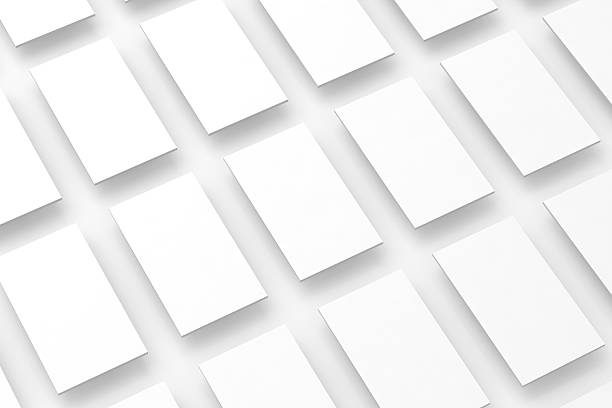 Blank white rectangles field for web site design mockup, clipping – Foto