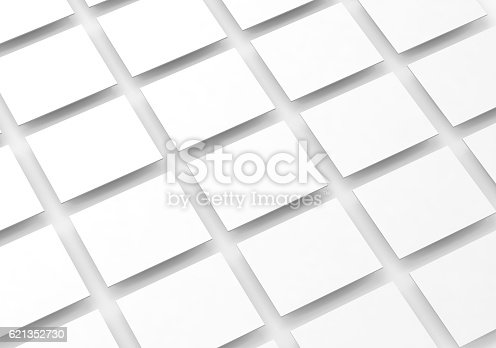 istock Blank white rectangles field for web site design mockup 621352730