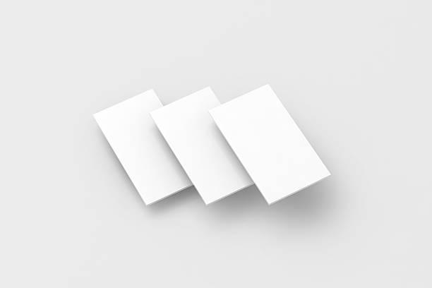 Blank white rectangles for phone screen web site design mockup stock photo