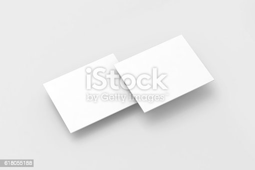 611766442 istock photo Blank white rectangles pc display web-site design mockup, 618055188