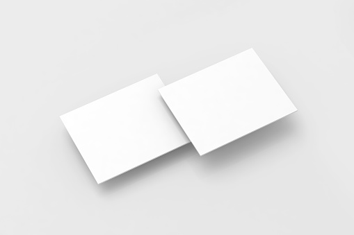Blank white rectangles pc display web-site design mockup, clipping path, 3d rendering. Web app interface mock up. Website ui template for browser screen. Online application presentation shapes.