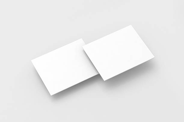 Blank white rectangles pc display web-site design mockup, stock photo