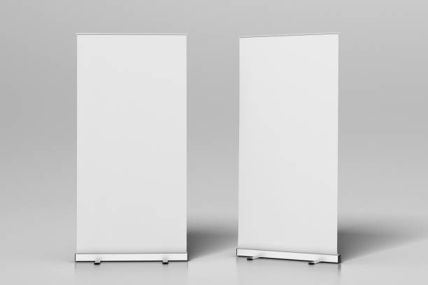 Blanco en blanco x-soporte - foto de stock