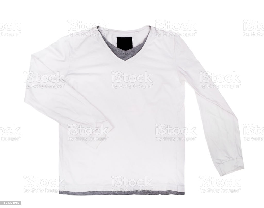 3cc06a23c Blank White Sweater Isolated On White Background Stock Photo & More ...