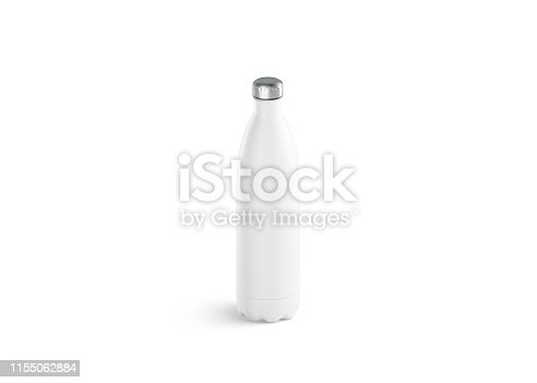 1129148925istockphoto Blank white thermo sport bottle mock up, 3d rendering. 1155062884