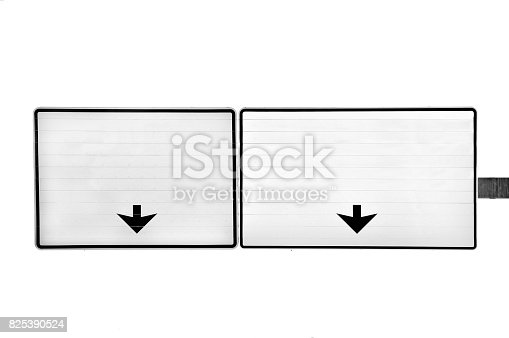 186103814istockphoto Blank white traffic sign 825390524