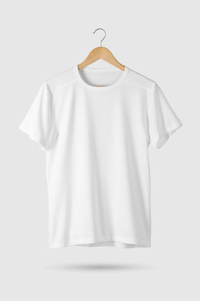 5cb70feb Best V Neck T Shirt No People White Background Stock Photos ...