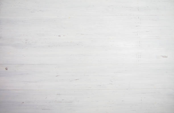 Blank white wooden background. Space for your text - foto stock