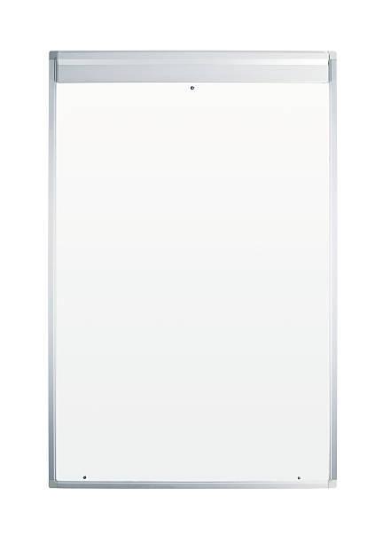 leere weiße tafel - flipchart stock-fotos und bilder