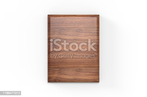 Blank Wood Plaque Template And Mock up.