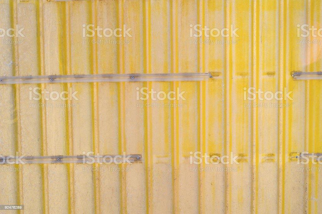Blank Yellow Display Sign royalty-free stock photo