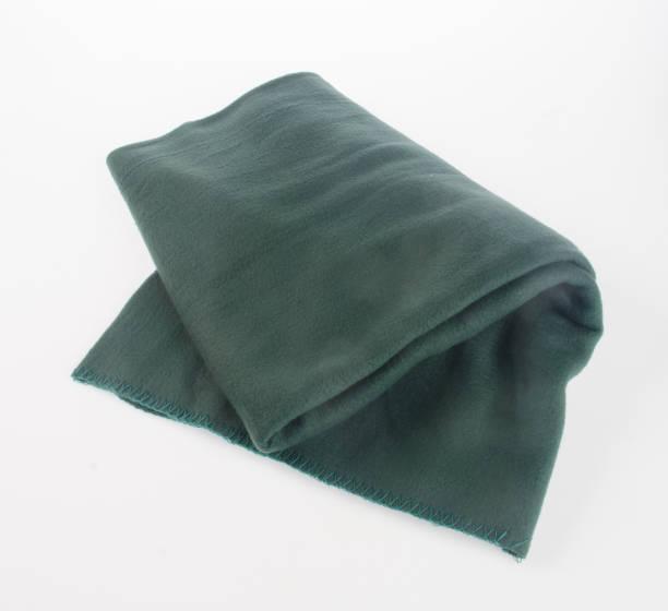 담요 또는 배경에 부드러운 따뜻한 담요 스톡 사진