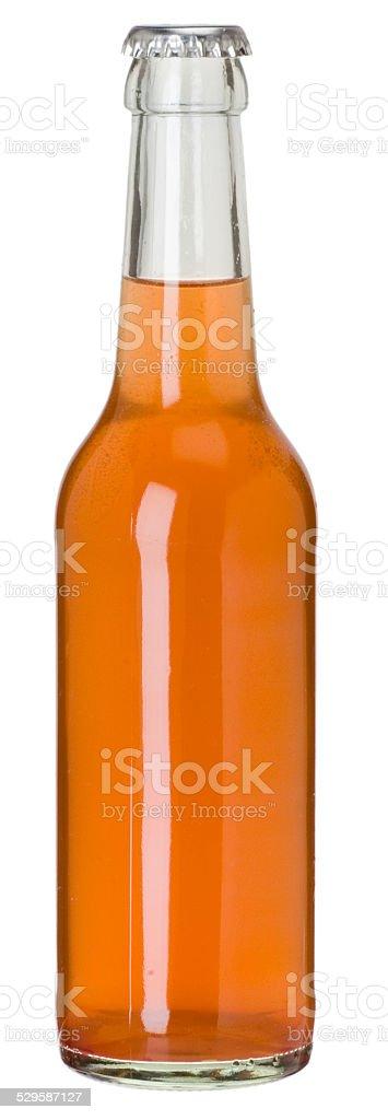 blanko Glasflasche für Limonade stock photo