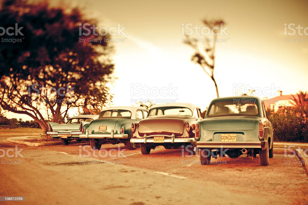 Blast from the past in Cuba royalty-free stock photo