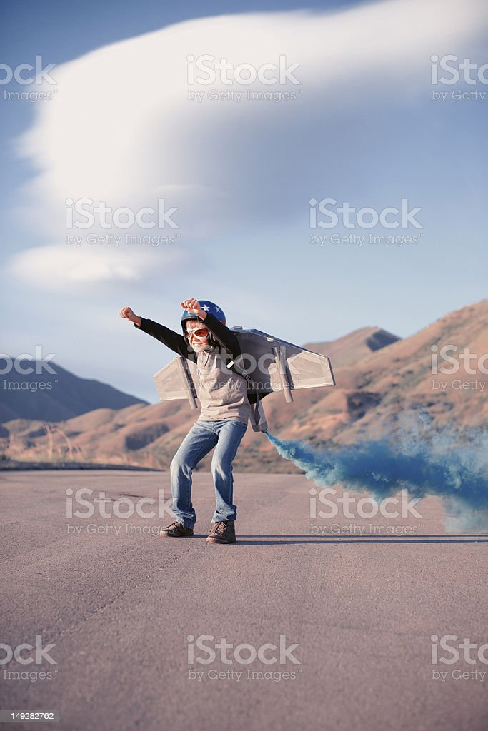 Blast Off! royalty-free stock photo