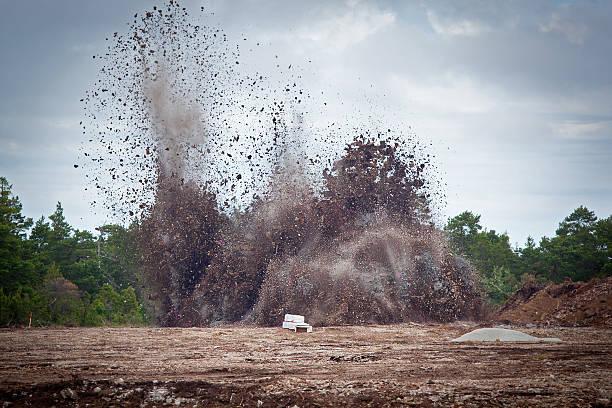 Hinunter Kalkstein in ein quarry.GN – Foto