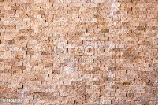 Blasting stone wall