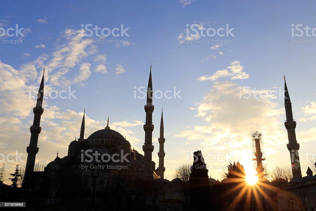 Blaue Moschee stock photo