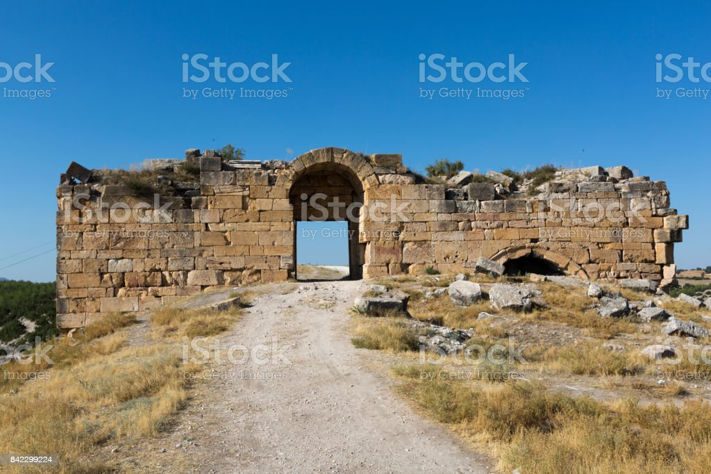 blaundus ancient city stock photo