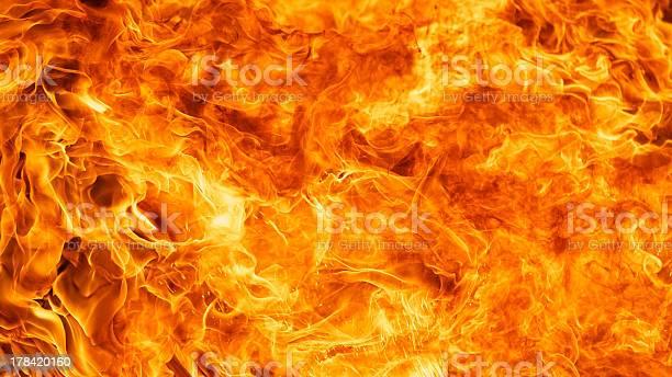 Photo of blaze fire flame background