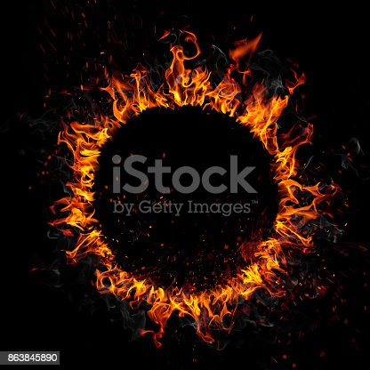 Blazing ring of fire