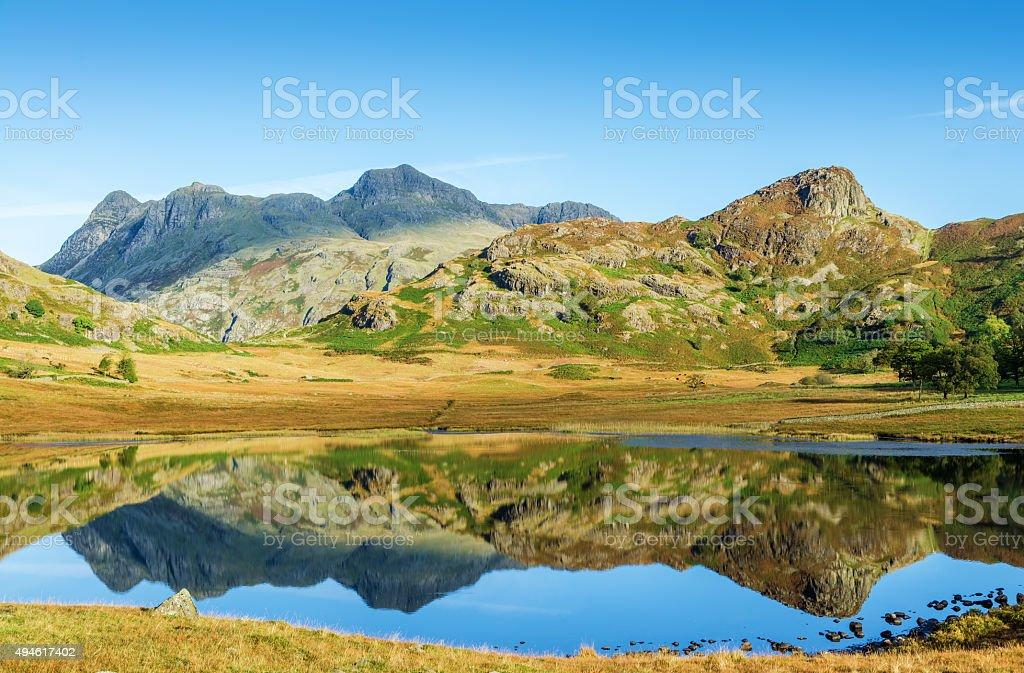Blea Tarn, English Lake District stock photo