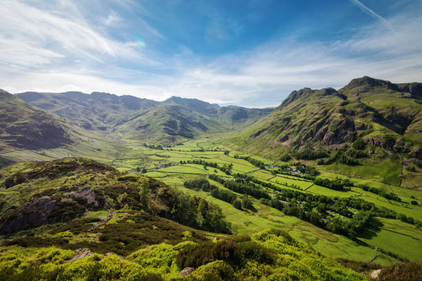 blea tarn lake district, verenigd koninkrijk - engeland stockfoto's en -beelden