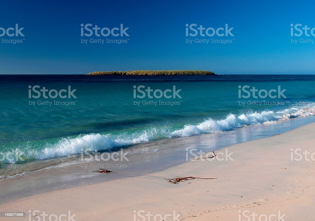 Bleaker Island stock photo