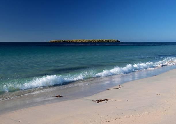Bleaker Island stock photo