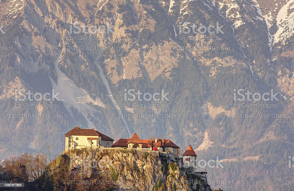 Bled castle royalty-free stock photo