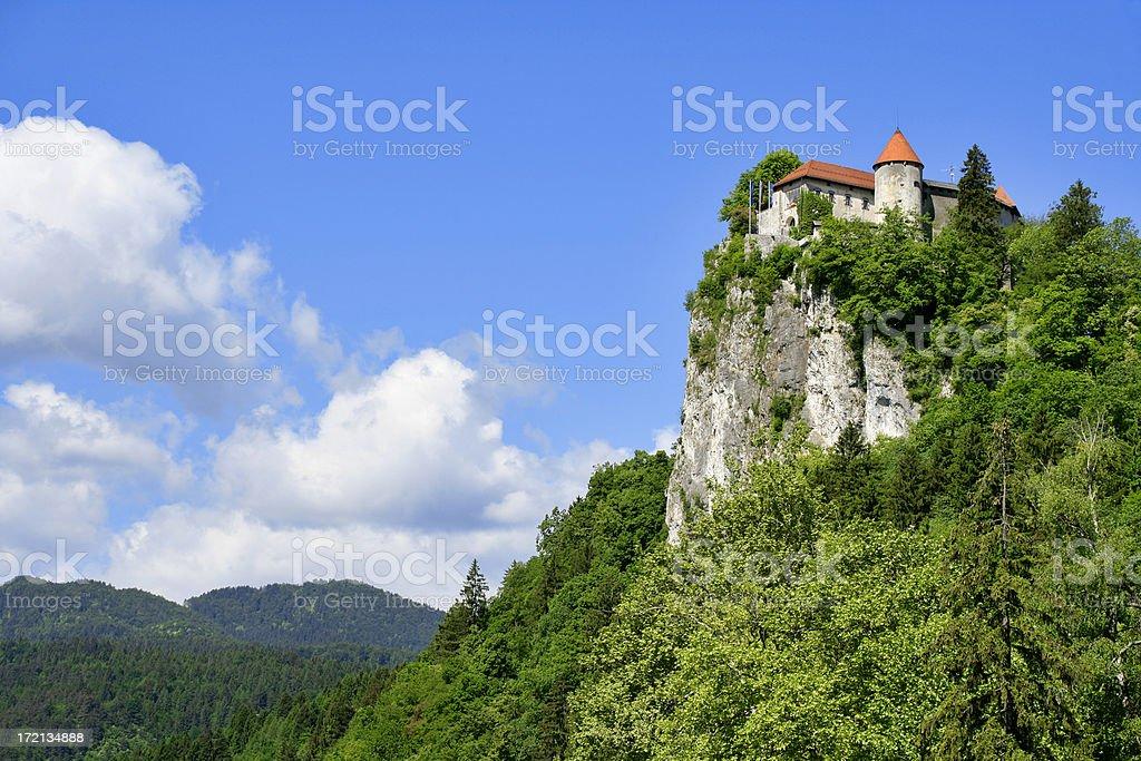 Bled castle, Slovenia royalty-free stock photo