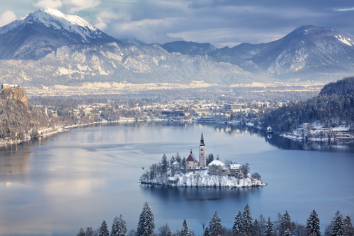 Bled Island Stock Photo - Download Image Now