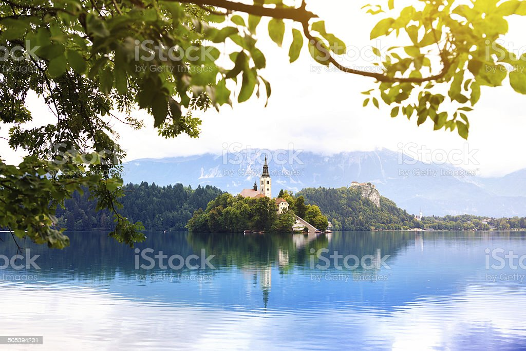 Bled Island royalty-free stock photo