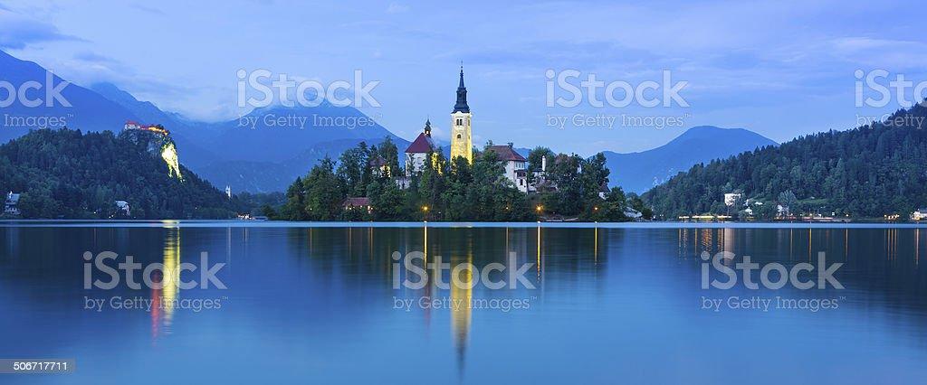 Bled See in Julianische Alpen, Slowenien. – Foto
