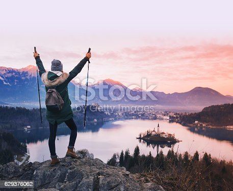 istock Bled Lake one of most amazing tourist attractions. 629376062