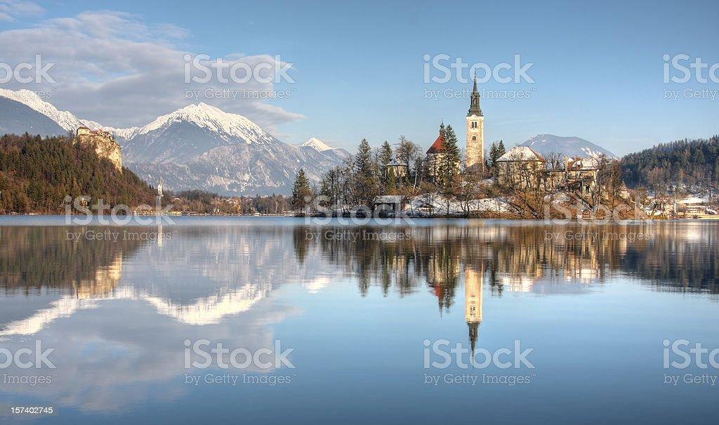 Lago di Bled, Slovenia - foto stock