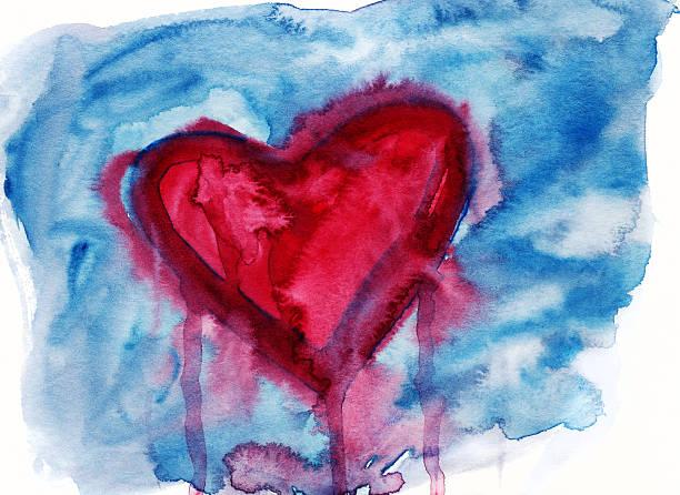 Bleeding heart bildbanksfoto