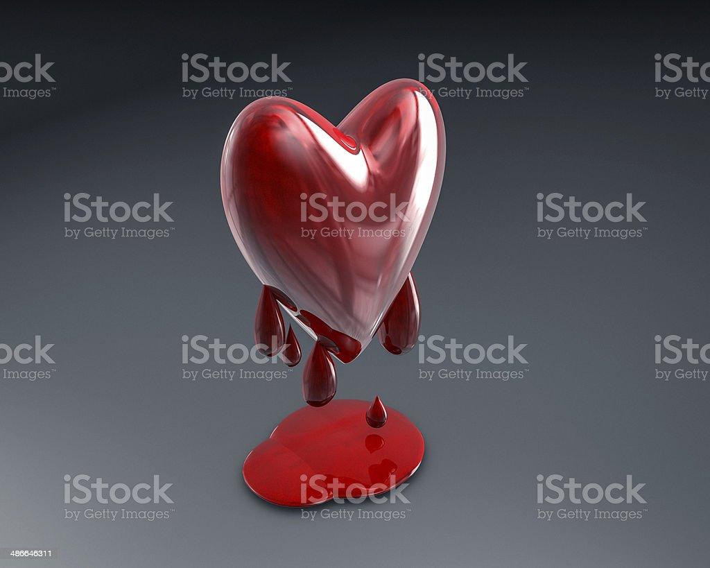 Bleeding Heart stock photo
