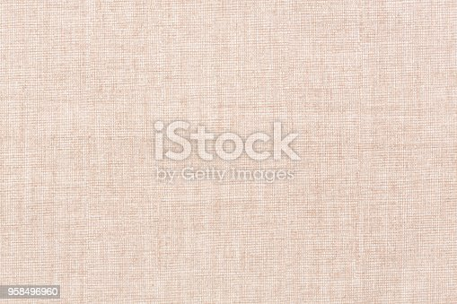 475709907 istock photo Blended cotton silk fabric textile in sweet light pink color ton 958496960