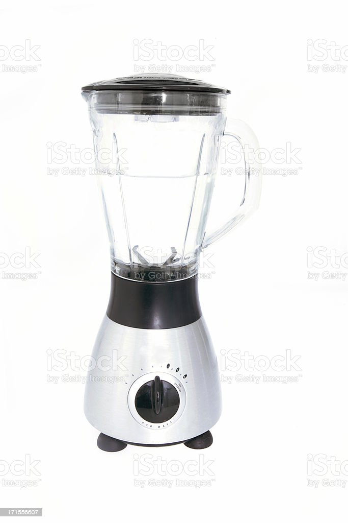 Blender with Water royalty-free stock photo