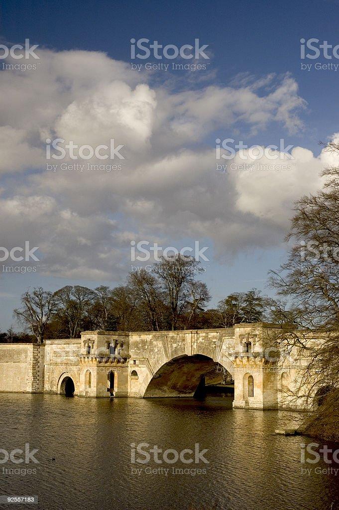 Blenheim Bridge stock photo