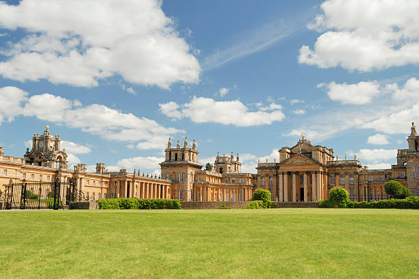Blenheim Palace in Summer stock photo